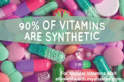 Do vitamins really work? Synthetic vitamins