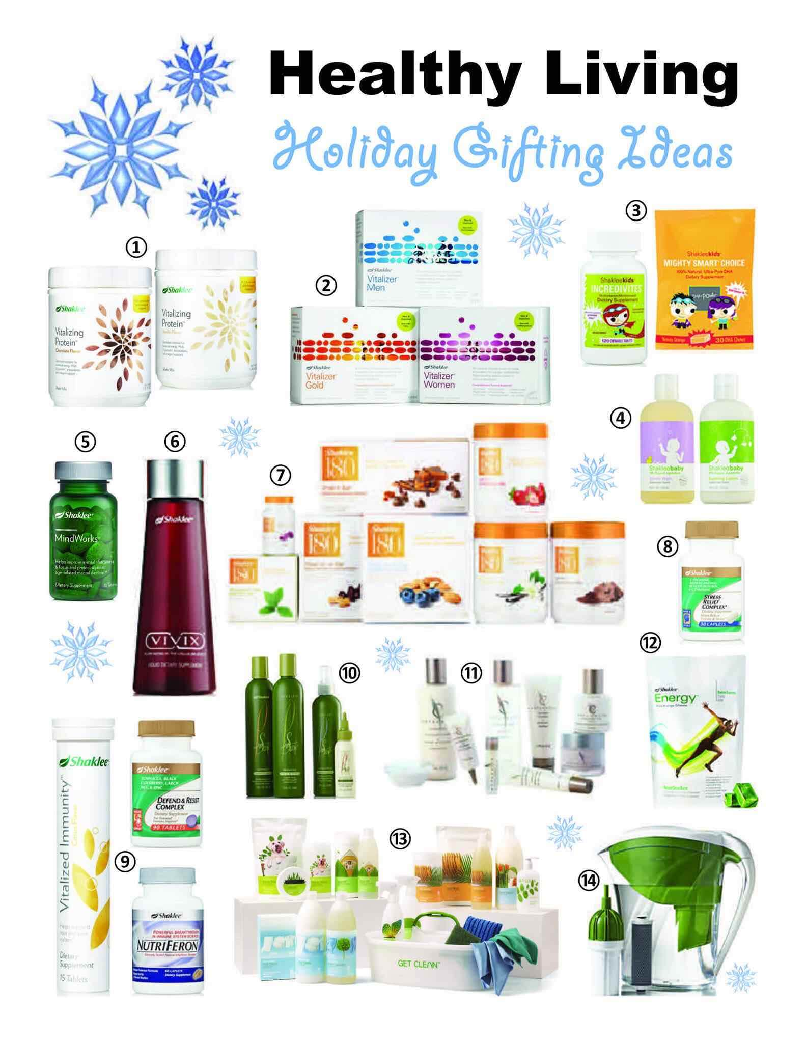 Shaklee Holiday Gifts