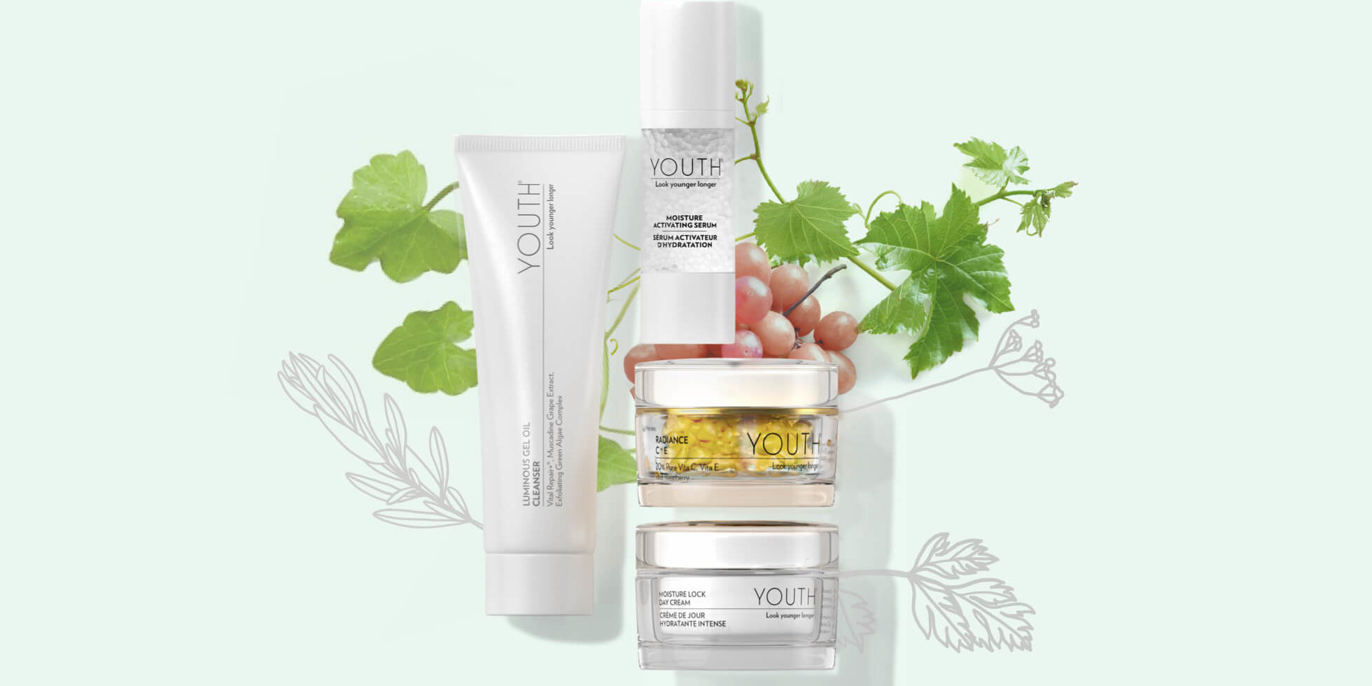 Shaklee Youth Skincare products